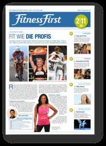 Fitness First Mitgliedermagazin - Verantwortlich von 2010-2011