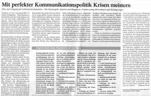 Gastbeitrag in der Lebensmittelzeitung 2006